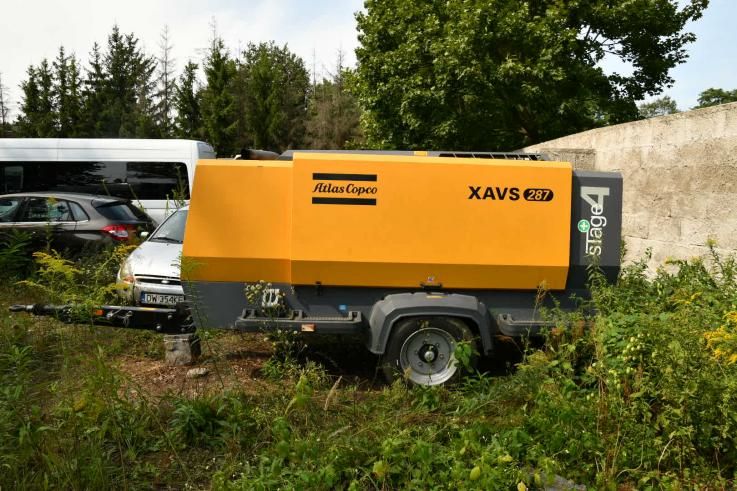 Agregat ATLAS COPCO XAVS287