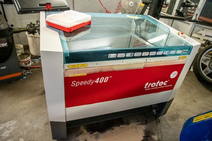 TROTEC Laser Speedy400