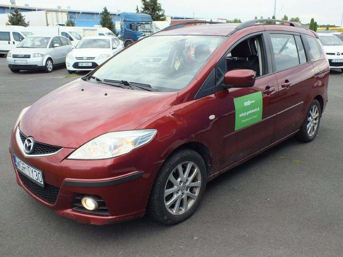 MAZDA 5 2.0 CD Exclusive